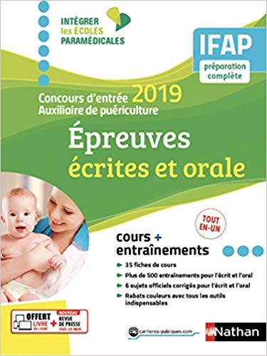 Auxiliaire De Puericulture Livres Concours Fonction Publique La Librairie Des Candidats